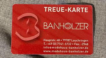 Banholzer Treue-Karte