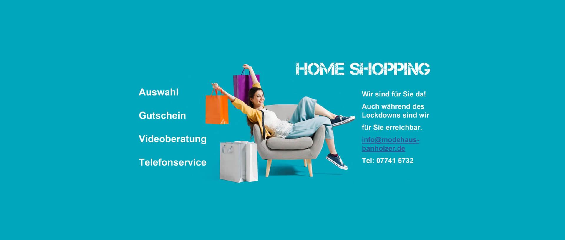 Home Shopping - Modehaus Banholzer