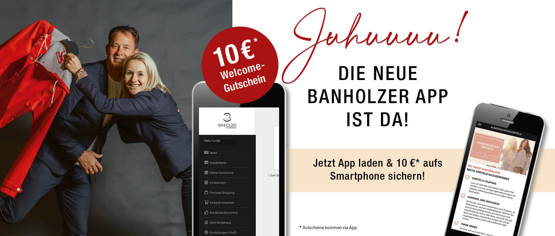 Modehaus Banholzer - Unsere neue App